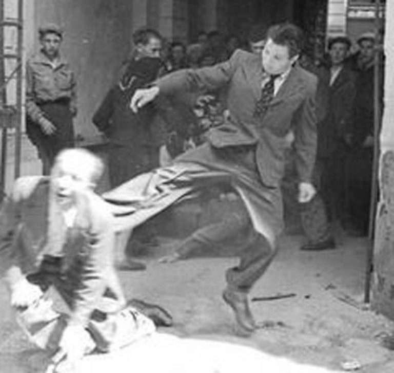 žydų pogromas