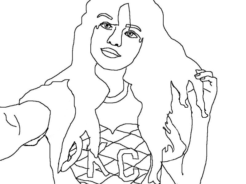 celebrity coloring book page - Celebrity Coloring Book