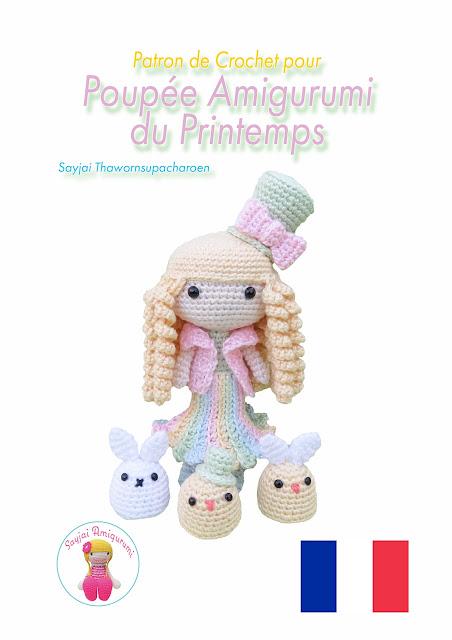 Patron de Crochet pour Poupée Amigurumi du Printemps