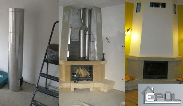 Fűtés, kémények | Habbeton házak - Épül Kft.