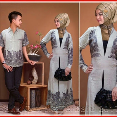 1PTH Baju Couple Murah Model Gamis Umko Murah Bj3001