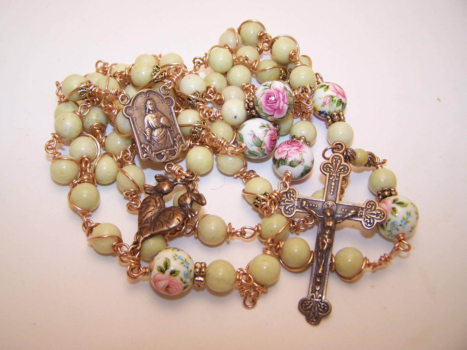 Etsy Rosary Guild Team: Robert's Heirloom Rosaries ...