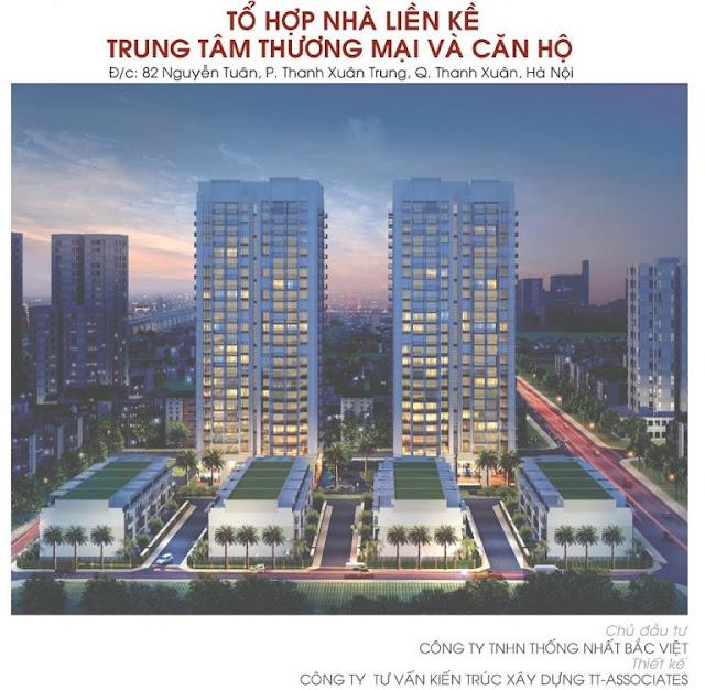 Phối cảnh dự án Thống Nhất Complex - 82 Nguyễn Tuân