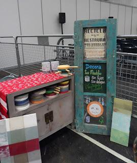 Rincón del taller de Trate tienda taller en el desembalaje de Bilbao