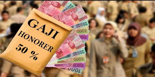 Mulai Januari Tahun Depan, Gaji Honorer Naik 50%
