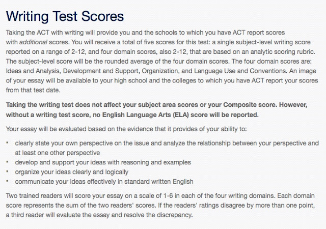 act essay scoring criteria Act provides explanation for low essay scores summit educational group scoring oyle kalakaari co what is a good writing score quesbook the new section tips high.
