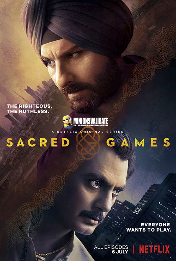 Sacred Games 2018 Hindi Web Series [Comlete] 480p & 720p