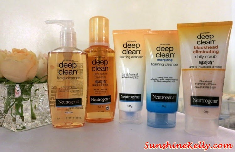 Neutrogena Deep Clean Cleansers & Scrub, Neutrogena 60th Anniversary, #neuwomen, Neutrogena, skincare, neutrogena healthy beauty hang out, girls hang out, pampering session, girls talk, canvas, damansara perdana