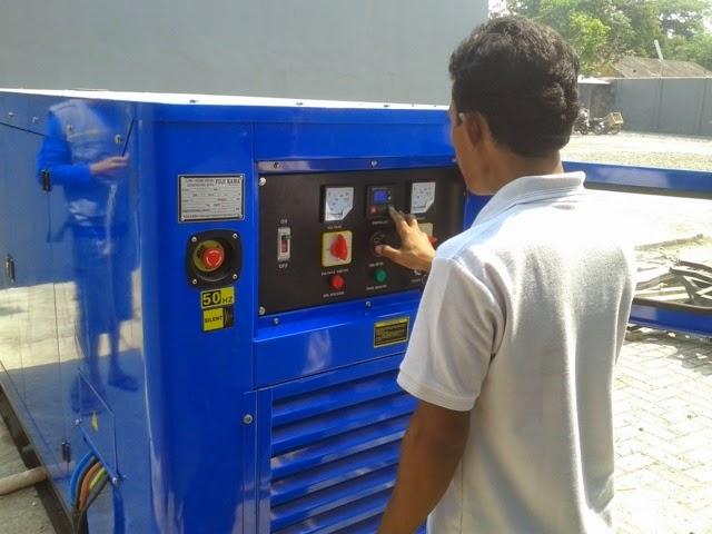 melayani service genset  dan panel maker
