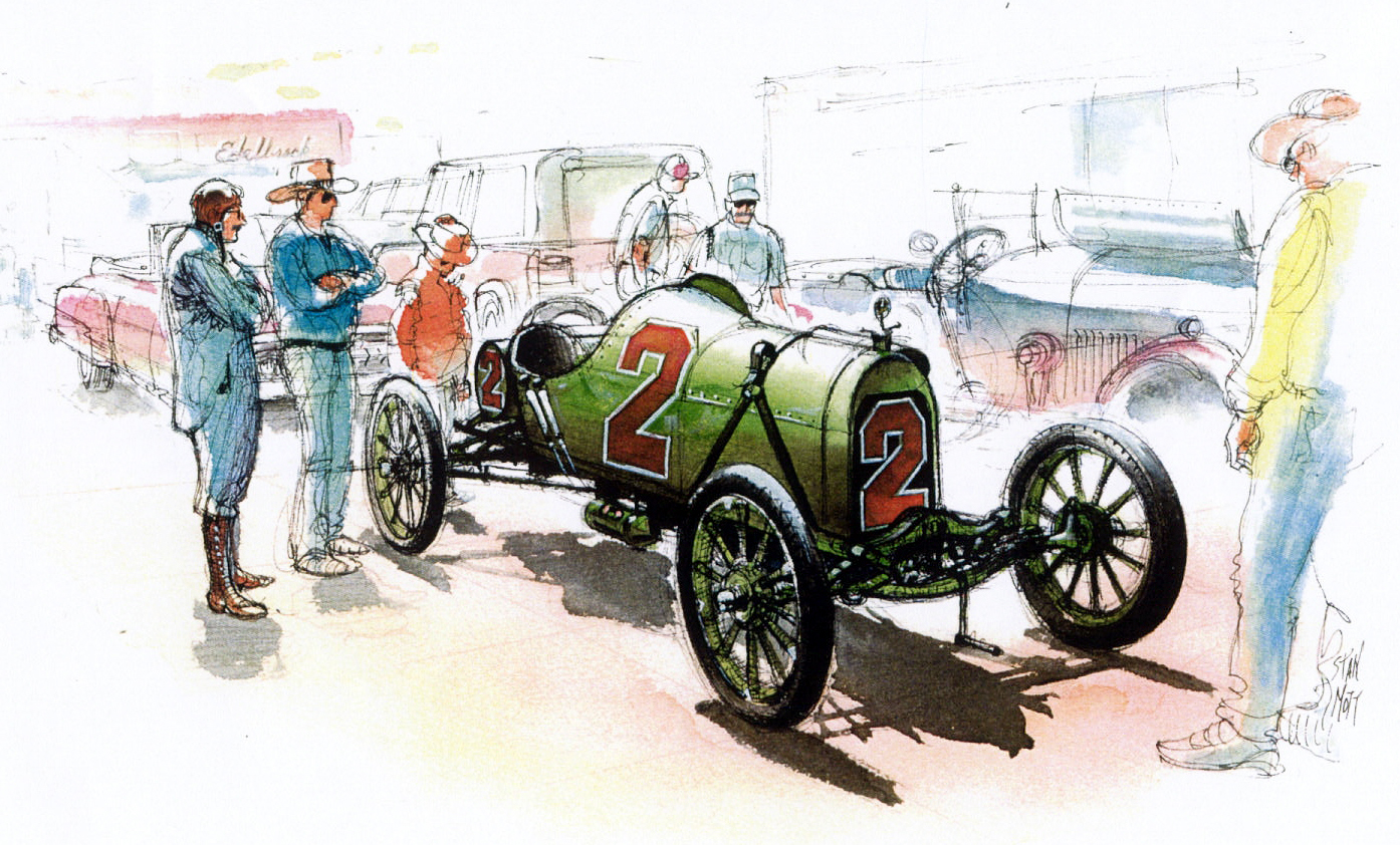 Just A Car Guy: Stan Mott\'s art and invented story to go with it ...