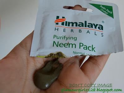 Himalaya purifying Neem pack.