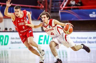 FIBA U17 World Cup Türkiye - Sırbistan Ömer Yasir Küçük