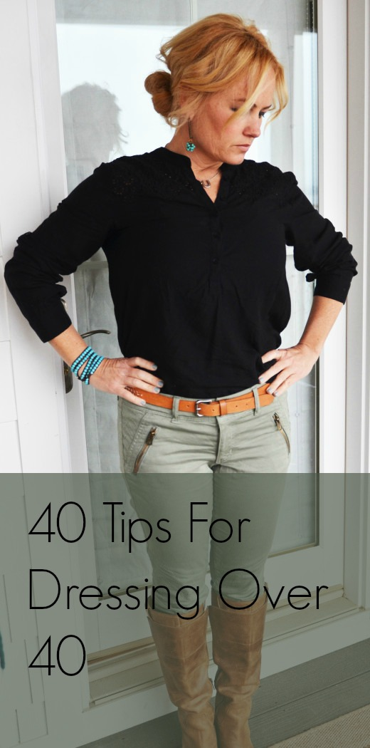 40 Tips For Dressing Over 40