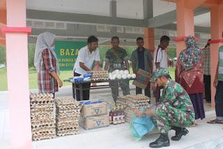 Disperindag Gandeng TNI Gelar Bazar Murah