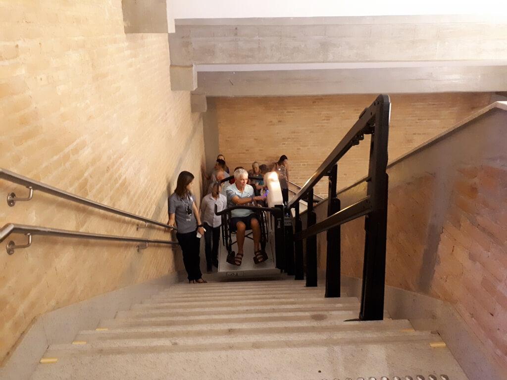 Acessibilidade da Cúpula da Basílica em Aparecida