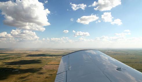 Hanna Alberta Aerial Photography