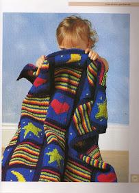 Cobertor Bebê Multicolorido