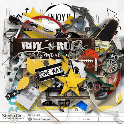 http://shop.scrapbookgraphics.com/Boy-s-rule.html