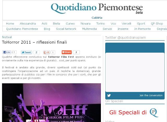 Novembre 2011 - Quotidiano Piemontese