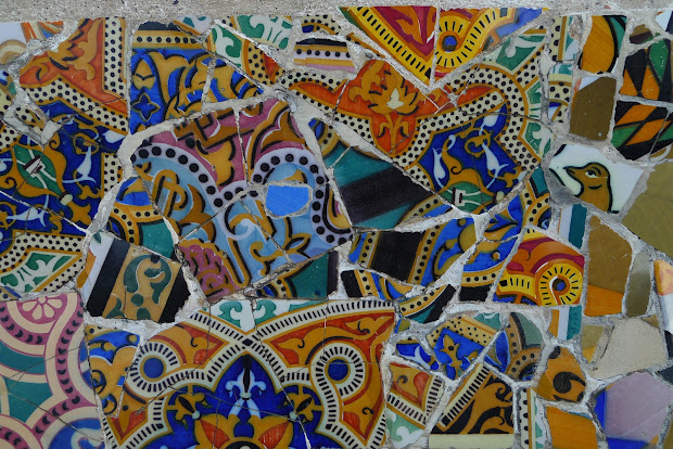 Jeffrey Bale' World Of Gardens Parc Guell And Amazing Tile Mosaics