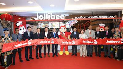 jollibee, tentang jollibee, cawangan jollibee di malaysia, cawangan jollibee di sabah, pelancaran jollibee di sabah, menu menarik jollibee