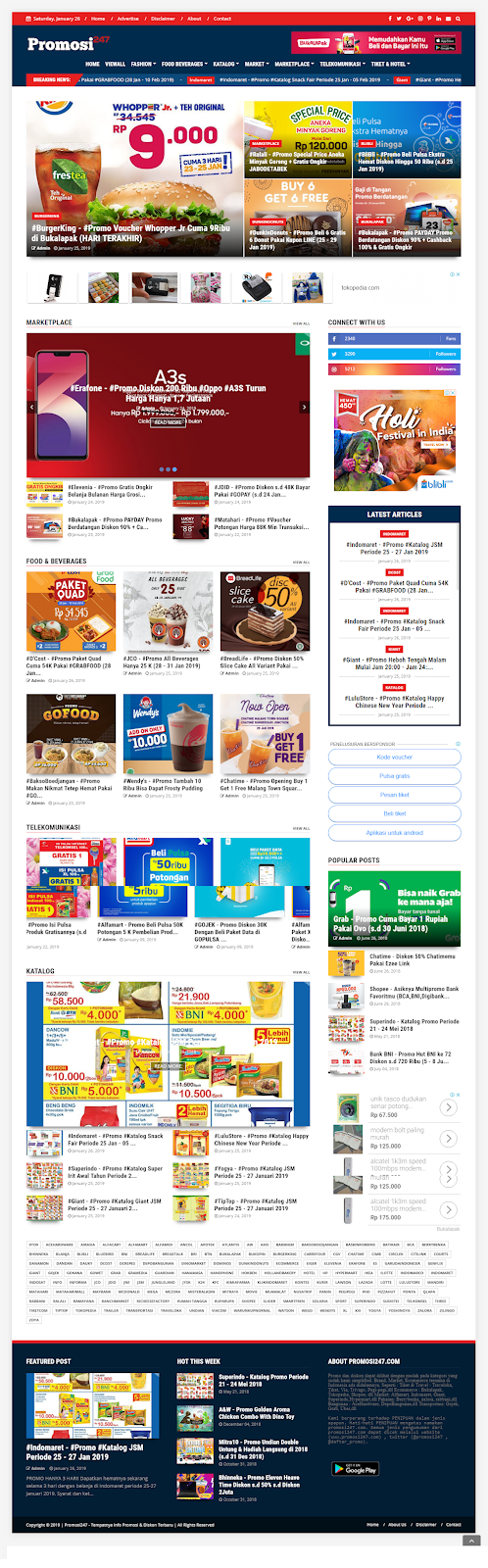 News - WOW Tampilan Baru Website Promosi247.com Jadi Lebih KECE!!