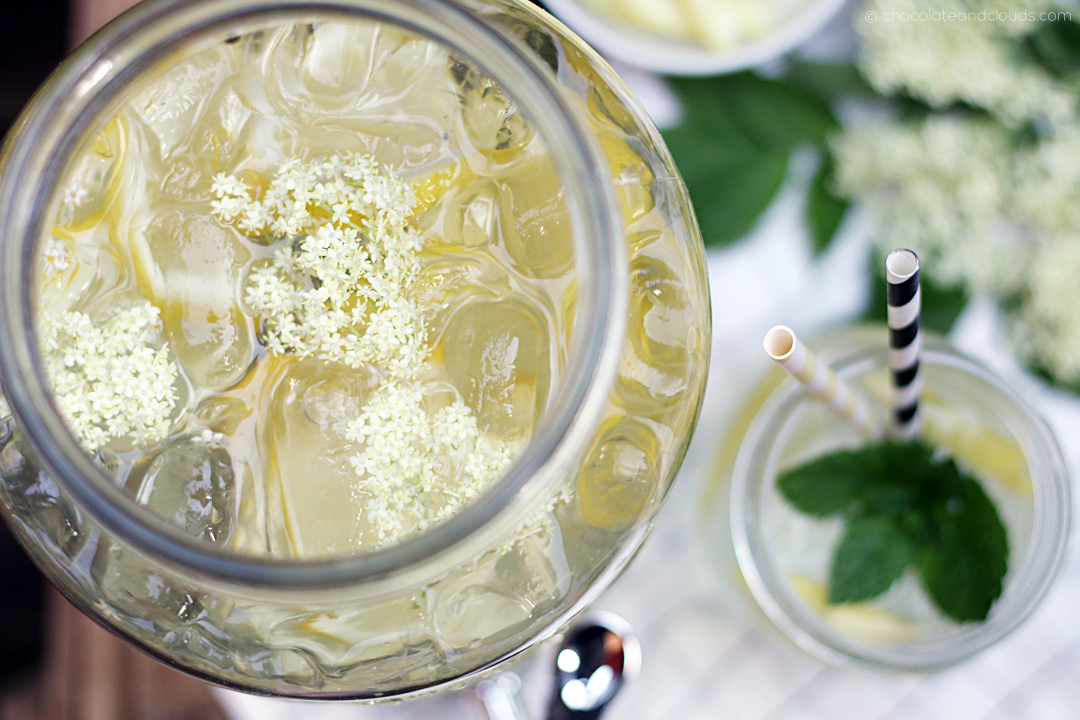 holunderblüten limonade rezept