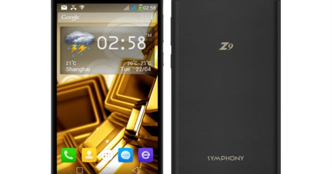 OFFICIAL FIRMWAERE FREE: Symphony Z9 Official Firmware Without Password