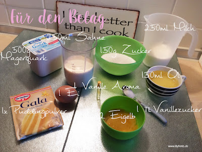 Rezept - Goldtröpfchenkuchen