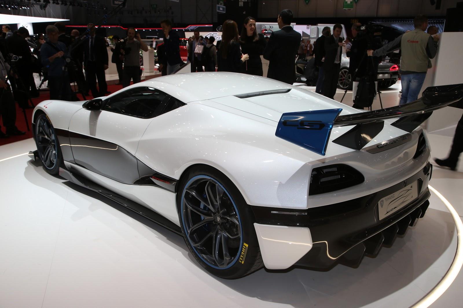 Nếu bạn thấy chiếc Rimac Concept S, bạn sẽ muốn cưỡi lên và đua ngay