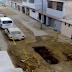 Obra de desagüe abandonada hace una semana afecta a vecinos
