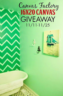 Enter the Canvas Factory Giveaway. Ends 11/25.