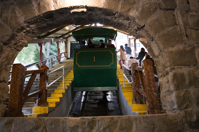 funicular cerro san cristobal santiago