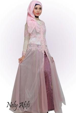 Model Baju Kebaya Modern Terbaru untuk Wanita Berjilbab