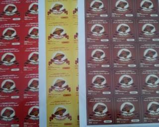 Cetak label serta sticker kemasan produk paling murah dan cepat di purworejo, wonosobo, magelang, kebumen, yogyakarta
