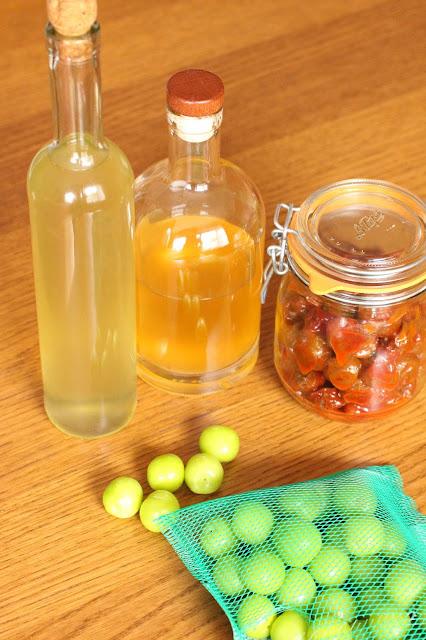 alcool de prunes coreen maesilju