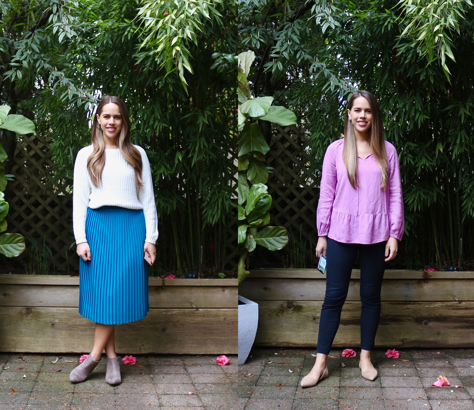Jules in Flats - April Outfits (Business Casual Spring Workwear on a Budget)