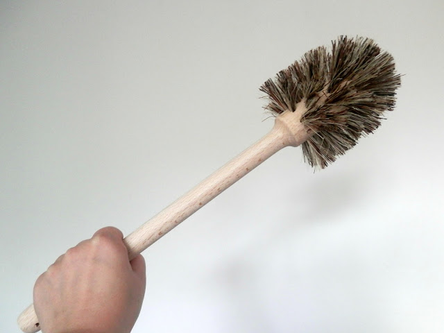 Make One Small Change - Use a Wooden Toilet Brush. secondhandsusie.blogspot.co.uk