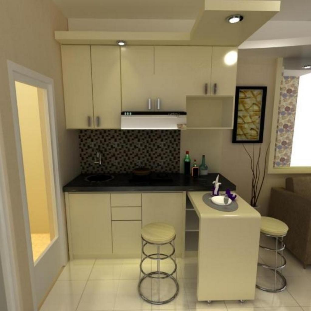 kitchen set apartemen 2