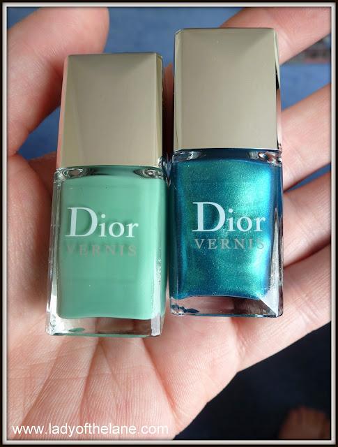 Dior Bird of Paradise Nail lacquer duo samba