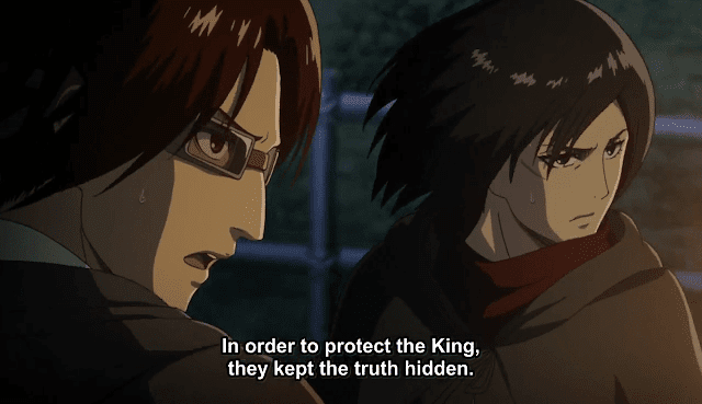 Hange Zoe & Mikasa - Attack on Titan Season 3 Episode 5 Reply