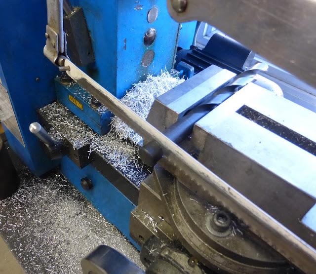 cutting drill shank