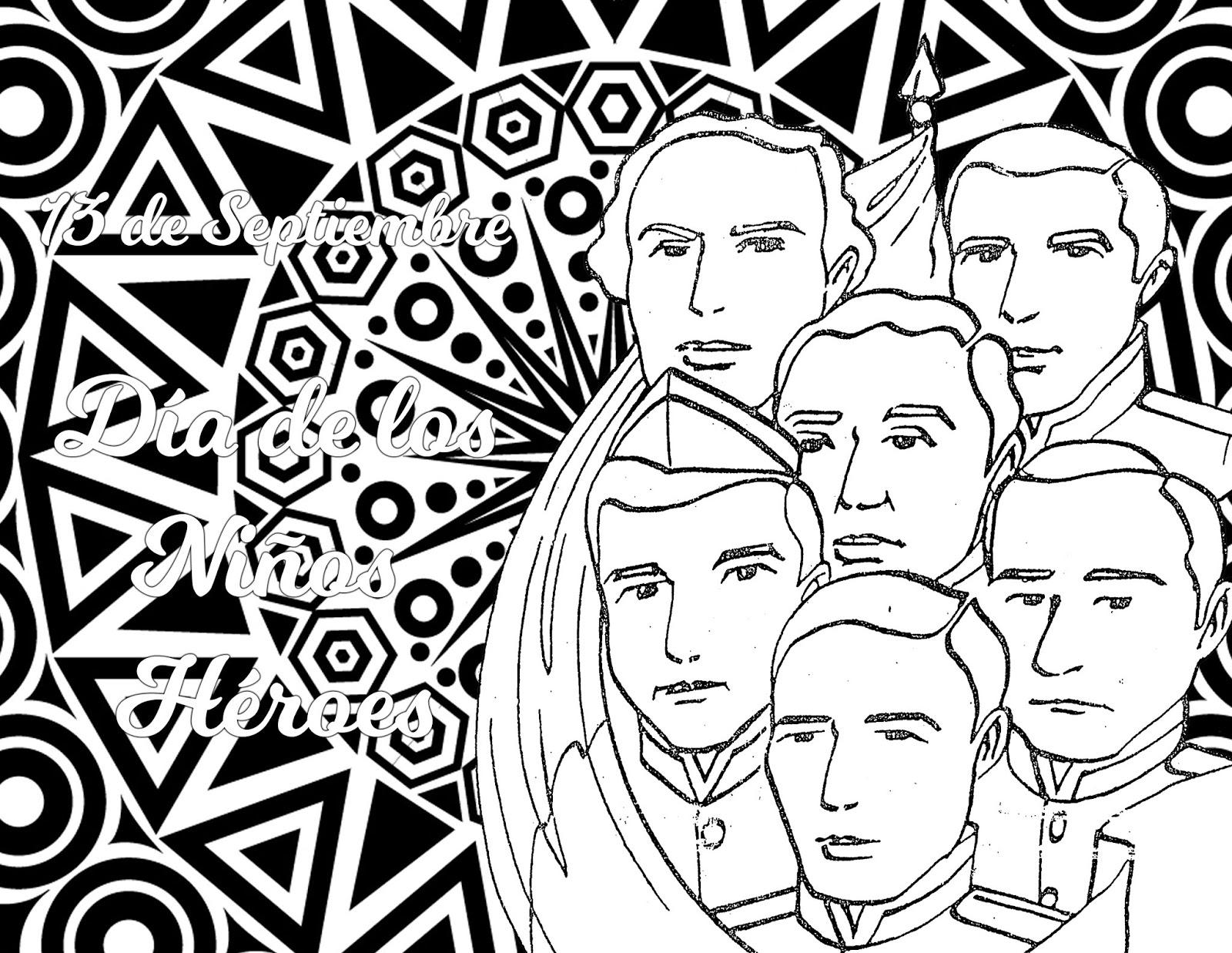 Pinto Dibujos Mandala De Los Niños Héroes Para Colorear Mandala
