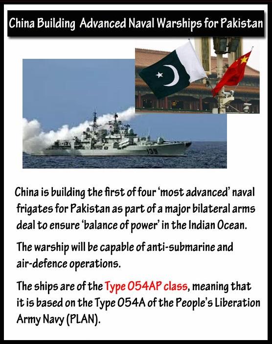 China Building Advanced Naval Warship for Pakistan