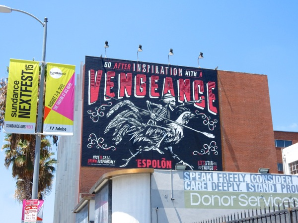 vengeance Espolon Tequila billboard