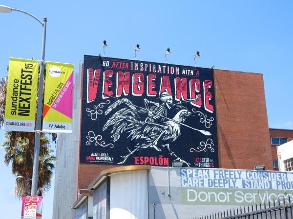 vengeance Espolon Tequila billboard