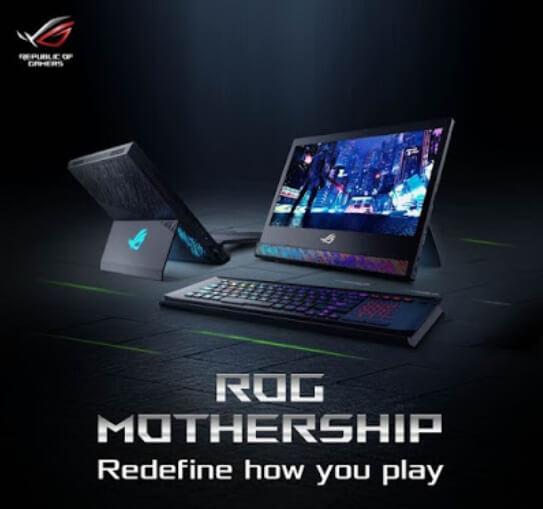 ASUS ROG Mothership Hybrid PC