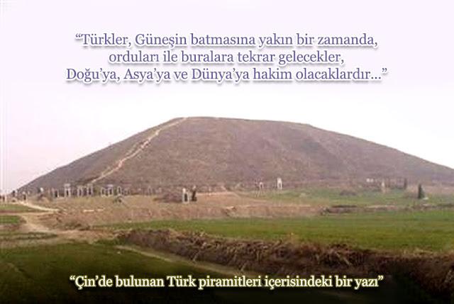 Çinde ki Bilinmeyen Türk piramitleri
