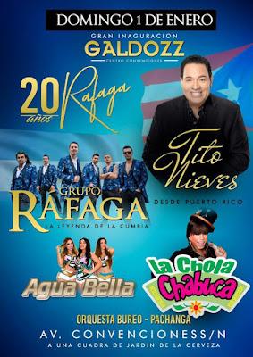 Rafaga en Arequipa 2017