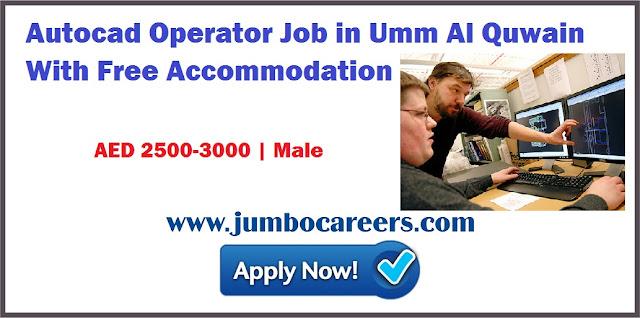 Autocad Operator Job in Umm Al Quwain